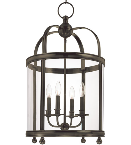 Hudson Valley Lighting Larchmont 4 Light Pendant in Distressed Bronze 7816-DB photo