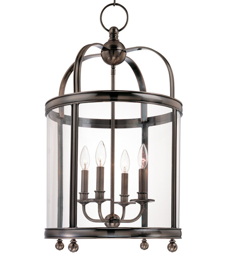 Hudson Valley Lighting Larchmont 4 Light Pendant in Historic Nickel 7816-HN photo