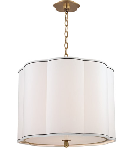 Hudson Valley 7920-AGB Sweeny 4 Light 20 inch Aged Brass Pendant Ceiling Light photo