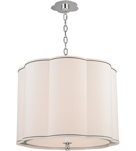 Hudson Valley 7920-PN Sweeny 4 Light 20 inch Polished Nickel Pendant Ceiling Light photo