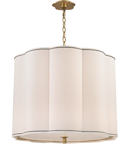 Hudson Valley Lighting Sweeny 5 Light Chandelier in Aged Brass 7925-AGB photo
