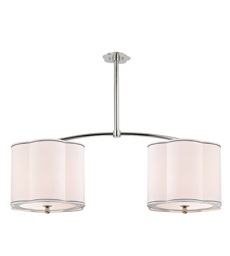 Hudson Valley Lighting Sweeny 6 Light Island Light in Polished Nickel 7942-PN photo