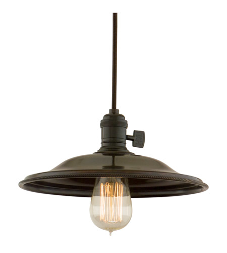 Hudson Valley 8002-OB-MS2 Heirloom 1 Light 10 inch Old Bronze Pendant Ceiling Light in MS2, No photo