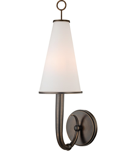 Hudson Valley 8200-DB Colden 1 Light 6 inch Distressed Bronze Wall Sconce Wall Light photo