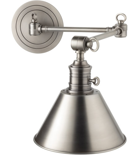 Hudson Valley 8322-AN Garden City 1 Light 8 inch Antique Nickel Wall Sconce Wall Light photo