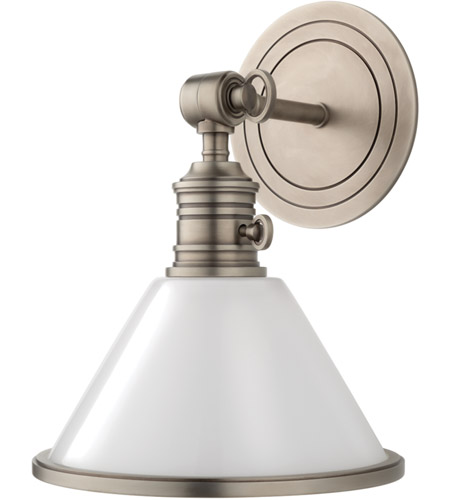 Hudson Valley 8331-AN Garden City 1 Light 8 inch Antique Nickel Wall Sconce Wall Light photo