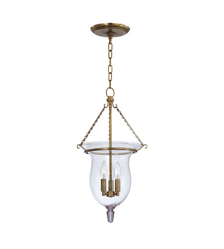 Hudson Valley Lighting Ulster 3 Light Pendant in Aged Brass 841-AGB photo