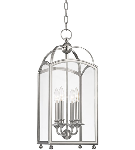 Hudson Valley Lighting Millbrook 4 Light Pendant in Polished Nickel 8410-PN photo