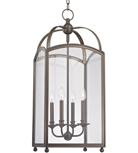 Hudson Valley 8414-DB Millbrook 4 Light 14 inch Distressed Bronze Chandelier Ceiling Light photo