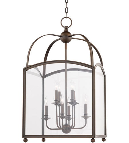 Hudson Valley 8420-DB Millbrook 8 Light 20 inch Distressed Bronze Pendant Ceiling Light photo