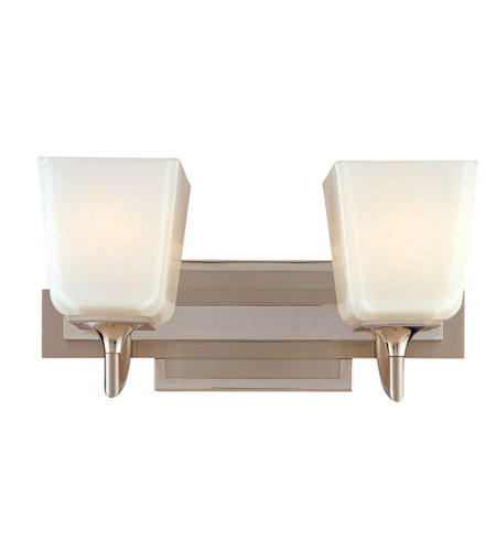 Hudson Valley Lighting Lawrence 2 Light Bath And Vanity in Polished Satin Nickel 8582-PSN photo