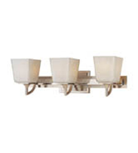 Hudson Valley Lighting Lawrence 3 Light Bath And Vanity in Polished Satin Nickel 8583-PSN photo