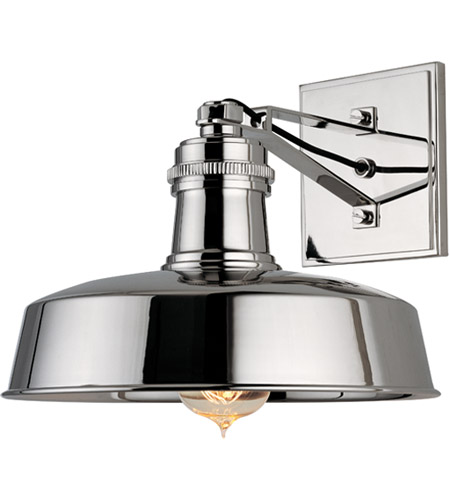 Hudson Valley 8601-PN Hudson Falls 1 Light 10 inch Polished Nickel Wall Sconce Wall Light photo