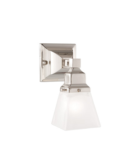 Hudson Valley Lighting Gramercy Square 1 Light Bath And Vanity in Polished Nickel 871-PN photo