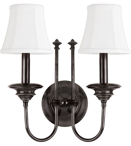 Hudson Valley 8712-OB Yorktown 2 Light 14 inch Old Bronze Wall Sconce Wall Light photo