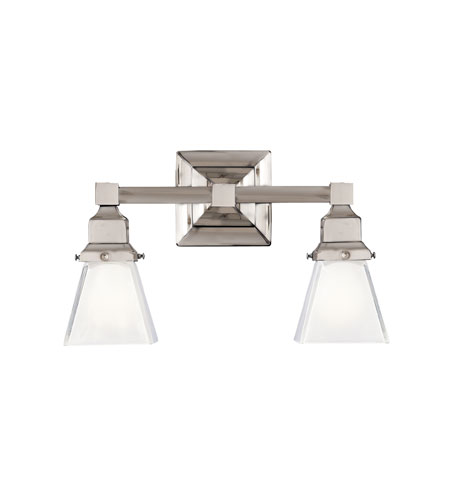 Hudson Valley Lighting Gramercy Square 2 Light Bath And Vanity in Polished Nickel 872-PN photo