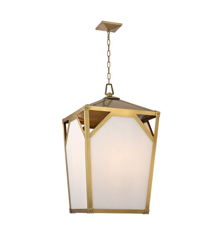 Hudson Valley 8720-AGB Carlisle 8 Light 20 inch Aged Brass Chandelier Ceiling Light photo