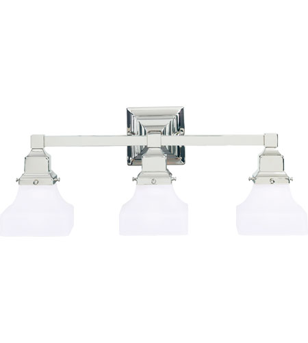 Hudson Valley Lighting Gramercy Square 3 Light Bath And Vanity in Polished Nickel 873-PN photo