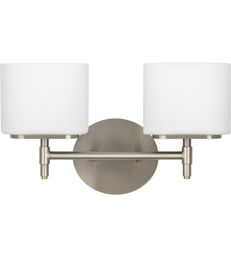 Hudson Valley Lighting Trinity 2 Light Bath And Vanity in Satin Nickel 8902-SN photo