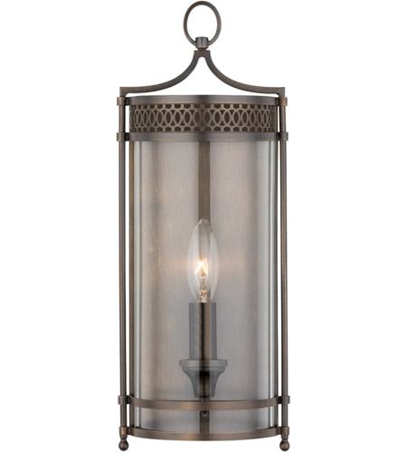 Hudson Valley Lighting Amelia 1 Light Wall Sconce in Distressed Bronze 8991-DB photo