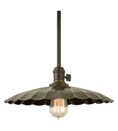 Hudson Valley Lighting Heirloom 1 Light Pendant in Old Bronze 9001-OB-ML3 photo