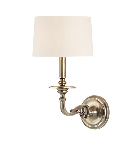 Hudson Valley Lighting Whitmire Wall Sconce in Aged Silver 910-AS photo