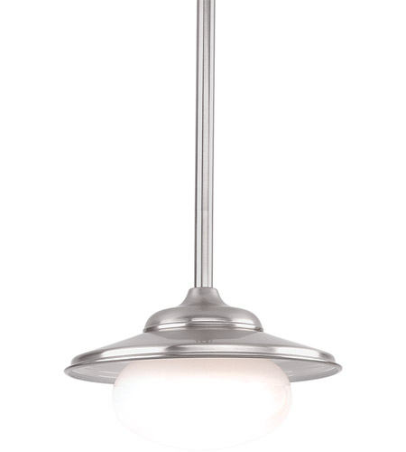 Hudson Valley Lighting Independence 1 Light Pendant in Satin Nickel 9111-SN photo
