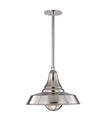 Hudson Valley 9118-PN Lansing LED 18 inch Polished Nickel Chandelier Ceiling Light photo