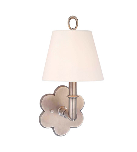 Hudson Valley Lighting Pomona 1 Light Wall Sconce in Antique Nickel 921-AN photo