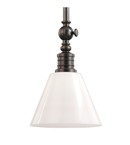 Hudson Valley 9615-DB Darien 1 Light 15 inch Distressed Bronze Pendant Ceiling Light photo