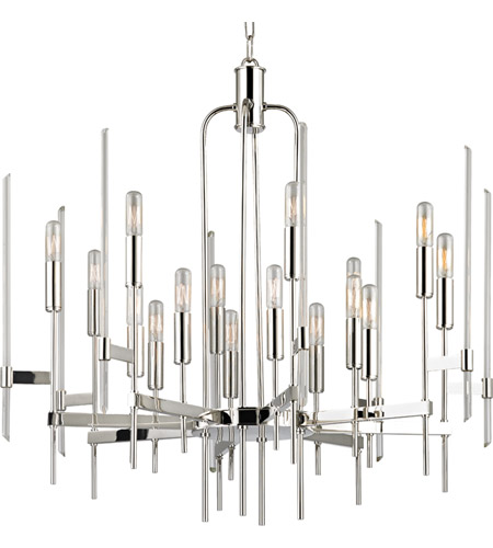 Hudson Valley 9916-PN Bari 16 Light 30 inch Polished Nickel Chandelier Ceiling Light photo  sc 1 st  Lighting New York & Hudson Valley 9916-PN Bari 16 Light 30 inch Polished Nickel ...