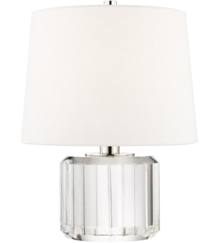 Hudson Valley L1054 Pn Hague 14 Inch 60 Watt Clear Table Lamp