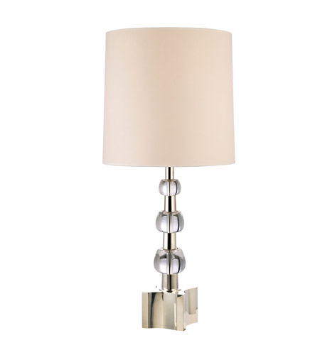 Hudson Valley Lighting Kentfield 2 Light Portable Table Lamp in Polished Nickel L125-PN photo