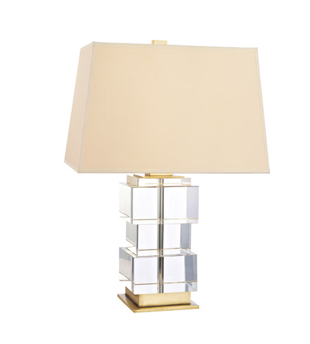 Hudson Valley Lighting Brookfield Portable Table Lamp in Aged Brass L243-AGB photo