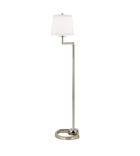 Hudson Valley Lighting Higgins 1 Light Floor Lamp in Polished Nickel L337-PN-WS photo