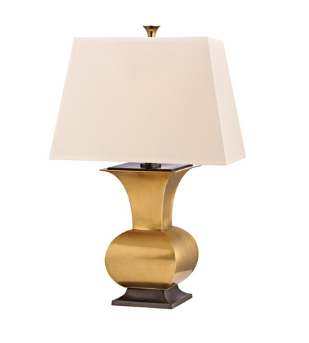 Hudson Valley Lighting Water Mill Portable Table Lamp in Vintage Brass L474-VB photo
