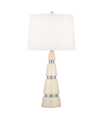 Hudson Valley Lighting Modena 1 Light Table Lamp in Polished Nickel L787-PN-WS photo