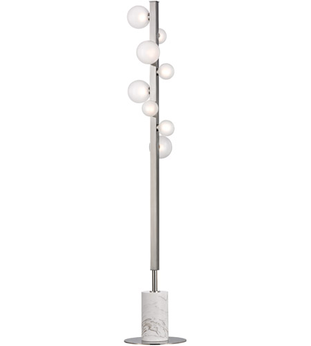 Hudson Valley L808-PN Mini Hinsdale 64 inch 3 watt Polished Nickel Floor Lamp Portable Light photo
