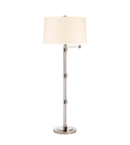 Hudson Valley Lighting Danby Portable Floor Lamp in Polished Nickel L905-PN photo