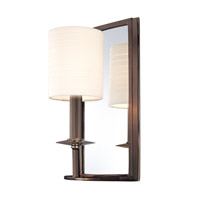 Hudson Valley Lighting Winthrop 1 Light Wall Sconce in Distressed Bronze 081-DB