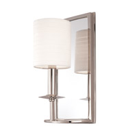 Hudson Valley Lighting Winthrop 1 Light Wall Sconce in Polished Nickel 081-PN
