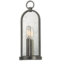 Hudson Valley Lighting Lowell 1 Light Wall Sconce in Antique Nickel 091-AN