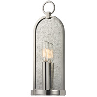 Hudson Valley Lighting Lowell 1 Light Wall Sconce in Polished Nickel 091-PN