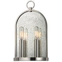 Lowell 2 Light 8 inch Polished Nickel Wall Sconce Wall Light