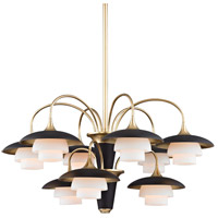 Barron 9 Light 31 inch Aged Brass Chandelier Ceiling Light