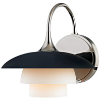Hudson Valley 1011-PN Barron 1 Light 8 inch Polished Nickel Wall Sconce Wall Light alternative photo thumbnail