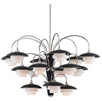 Barron 15 Light 39 inch Polished Nickel Chandelier Ceiling Light