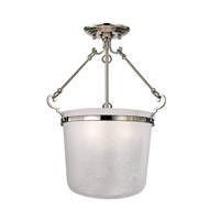Hudson Valley Lighting Amenia 3 Light Semi Flush in Polished Nickel 1030-PN