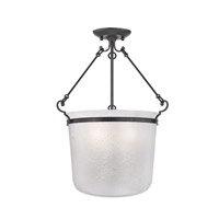 Hudson Valley Lighting Amenia 3 Light Semi Flush in Old Bronze 1032-OB