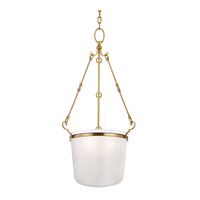 Hudson Valley Lighting Amenia 3 Light Pendant in Aged Brass 1033-AGB photo thumbnail